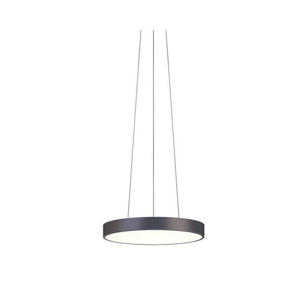 Sonneman Lighting Pi Black Bronze 16-inch LED Pendant