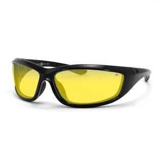 Bobster Charger Sunglass Z87+-Black Frame, Anti-fog Lens