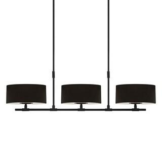 Sonneman Lighting Soho 6-light Satin Black Linear Pendant