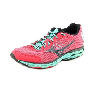 Mizuno Women's 'Wave Inspire 11' Pink Mesh Athletic Shoes