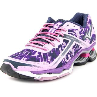 Mizuno Women's 'Wave Creation 15' Purple Synthetic Athletic Shoes