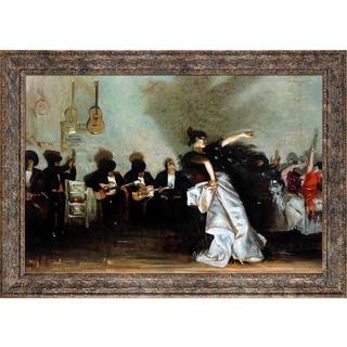 John Singer Sargent 'El Jaleo' Hand Painted Framed Canvas Art