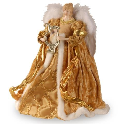 Goldtone 16-inch Angel Figurine