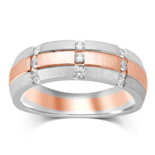 Unending Love 10K Gold and Diamond Accent Band
