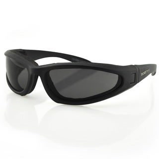 Bobster Low Rider II Convertible-Black Frame-3 Lenses