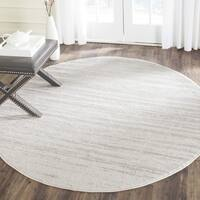 Safavieh Adirondack Vintage Ombre Ivory / Silver Rug (5' Round)