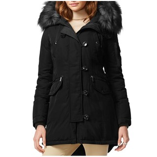 Michael Kors Black Down Parka Coat