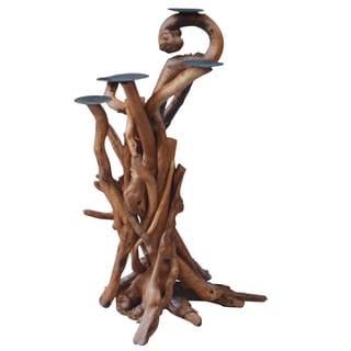 12-inch x 12-inch x 20-inch Driftwood Branch Decor