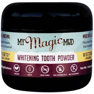 My Magic Mud 3-ounce Whitening Tooth Powder