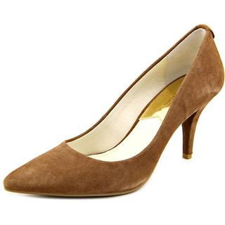 Michael Kors Women's Flex Mid-pump Regular Suede Dress Shoes
