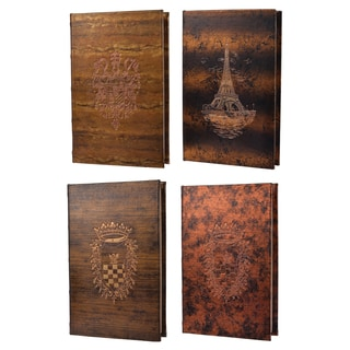 Turin Titanic 8-inch x 5.5-inch Book Boxes (Pack of 4)