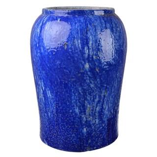Blue Clay Planter Pot