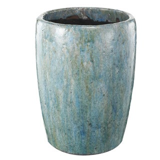 Blue Clay Large 8-inch x 11-inch Planter