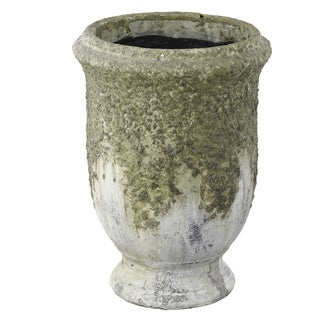 Green Clay Large 7-inch x 10-inch Planter
