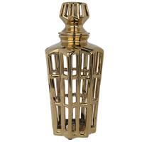 5-inch x 12-inch-high Manzu Lidded Jar