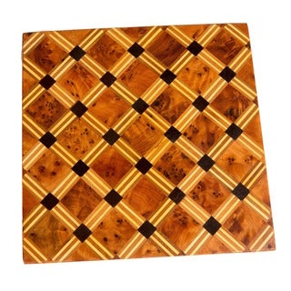 Handmade Cross-Hatch Square Box (Morocco)