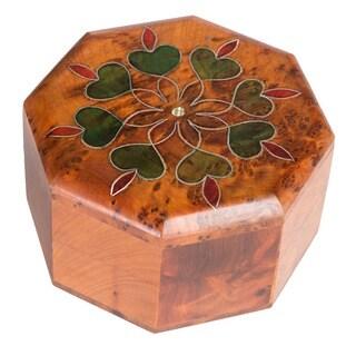 Handmade Octagonal Flower Box (Morocco)