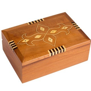 Inlaid Fleur de Lis Box (Morocco)