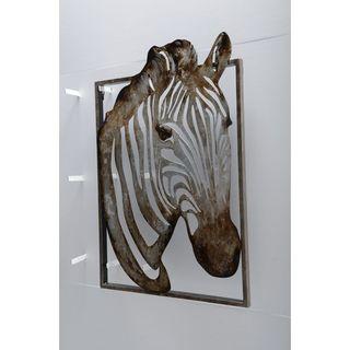 Unique Zebra Metal Art by Urban Port