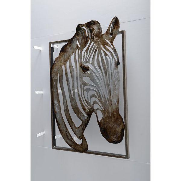 Unique Zebra Metal Art by Urban Port. Opens flyout.