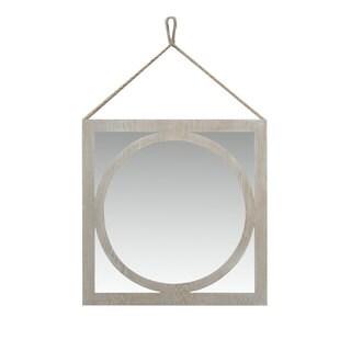 Urban Port Wash White Wooden Wall Mirror
