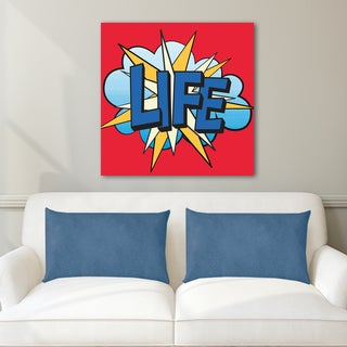 Portfolio Canvas Decor IHD Studio 'Pop Life 2' Canvas Wall Art