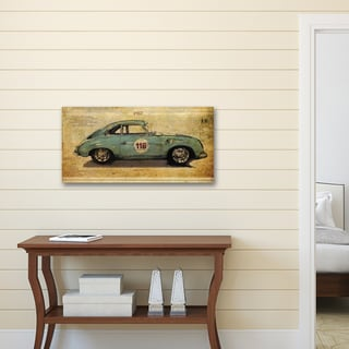 Sidney Paul & Co 'Racer 2' Portfolio Canvas Print Wall Art