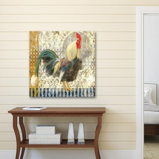 Portfolio Canvas Decor d'Ellen 'Rooster I' Canvas Print Wall Art