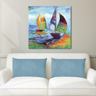 Portfolio Canvas Decor Sandy Doonan 'Sailing I' Canvas Print Wall Art