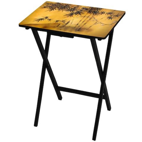 Handmade Bamboo Tree TV Tray