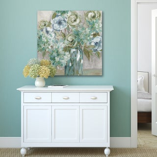 Carol Robinson 'Spring Assembly I' Canvas Print Wall Art