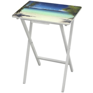 Caribbean Beach TV Tray (China)