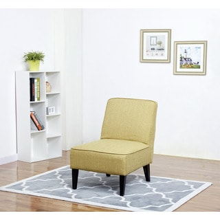 Boise Green Slipper Accent Chair