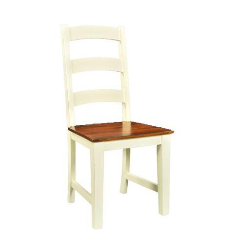 Handmade Timbergirl Mysore Farmhouse Chic Acacia Chair (Set of 2) (India)