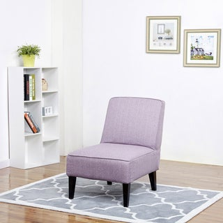 Boise Purple Slipper Accent Chair