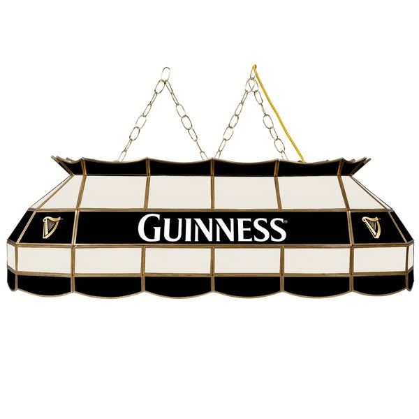 Guinness 40 Inch Handmade Tiffany Style Lamp