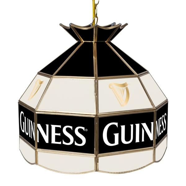 Guinness 16 Inch Handmade Tiffany Style Lamp