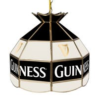Guinness 16 Inch Handmade Tiffany Style Lamp