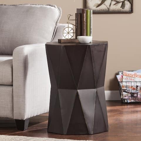 Terwilliger Antique Black Accent Table