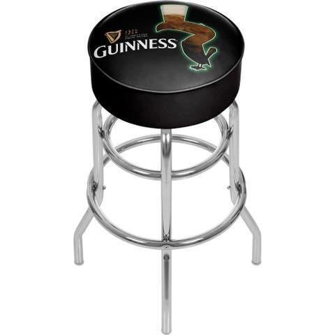 Guinness Padded Swivel Bar Stool
