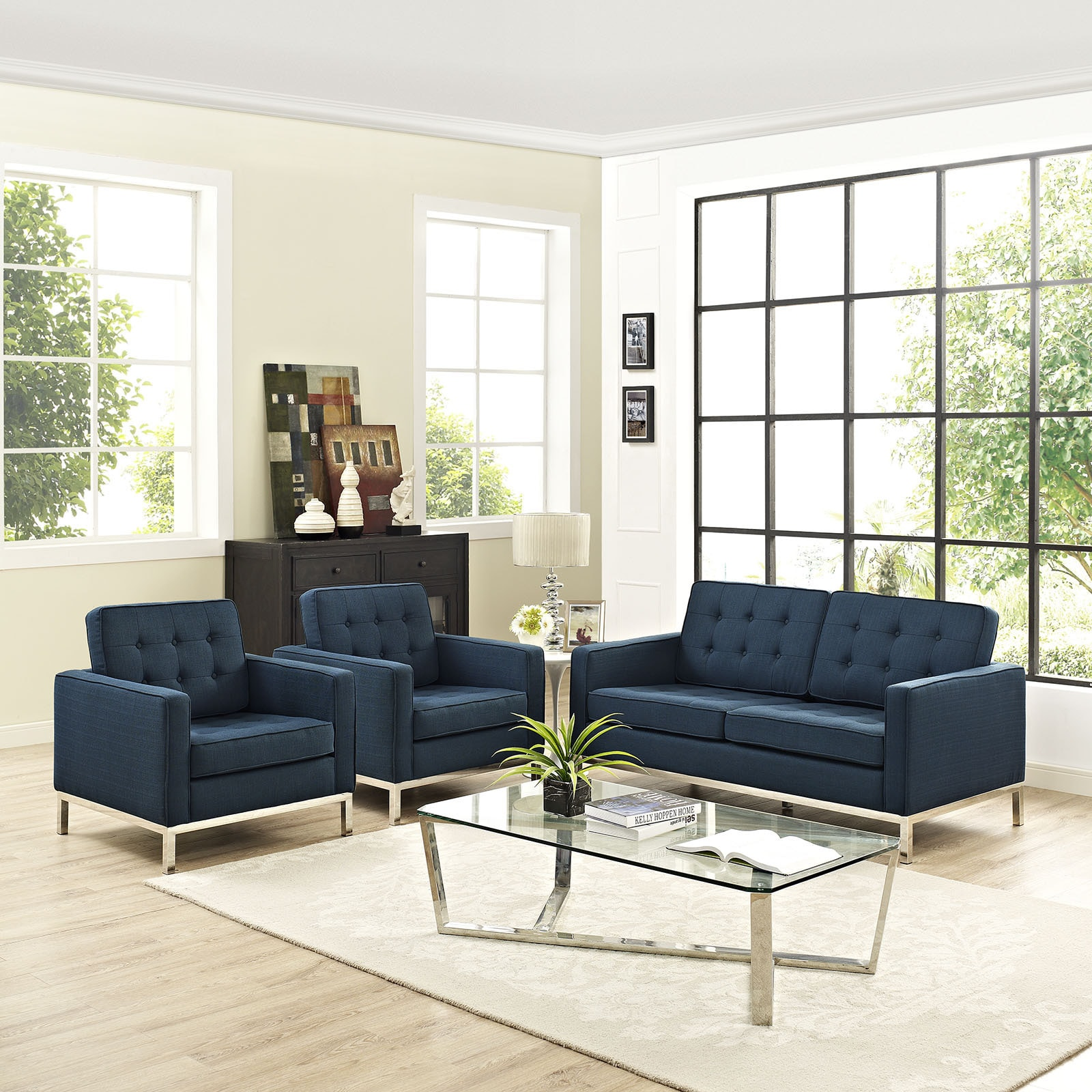 Stainless Steel Sofas & Couches For Less | Overstock