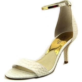 Michael Michael Kors Women's Kristen Leather Mid Dress Shoes