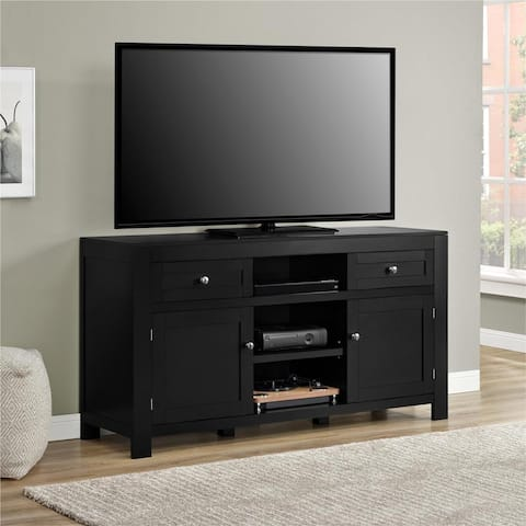 Ameriwood Home Hadley Black TV Stand for TVs up to 60 inches