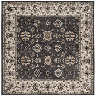 Safavieh Lyndhurst Traditional Oriental Grey/ Cream Rug (7' Square)