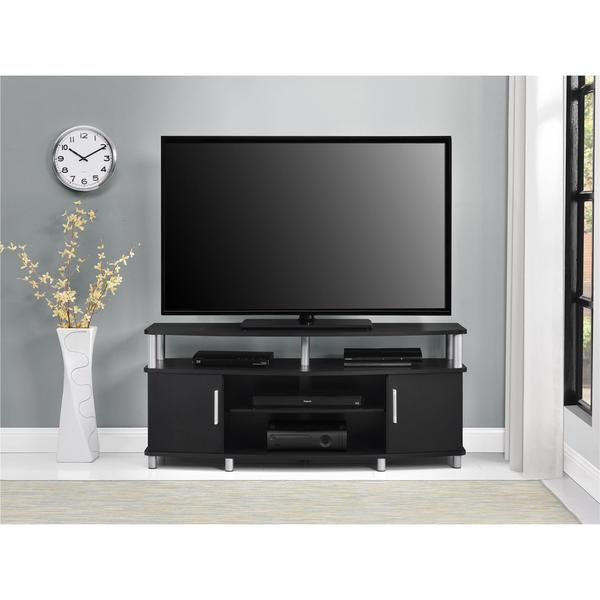 Ameriwood home carson 50 inch black tv stand