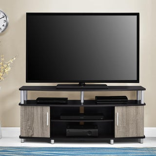 Altra Carson 50-inch Espresso/ Sonoma Oak TV Stand