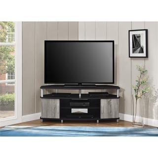 Altra Carson 50-inch Espresso/ Sonoma Oak Corner TV Stand