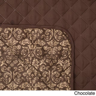 Home Fashion Designs Katrina Collection Deluxe Reversible Stain-resistant Loveseat Protect