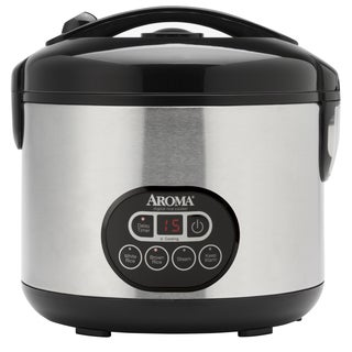 Aroma ARC-926SBD 12-cup Cooked Rice Cooker and Food Steamer