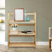 The Gray Barn La Vida 3-shelf Folding Stackable Bookcase